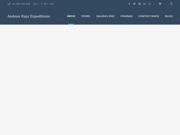 andeanrajuexpeditions.com