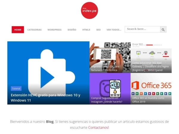 blog.index.pe
