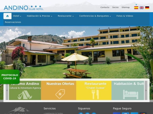 hotelandino.com